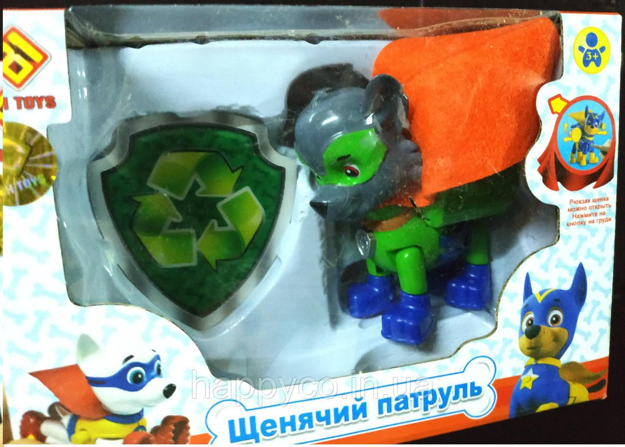 Герой фигурка Рокки, лапки подвижны, детская игрушка