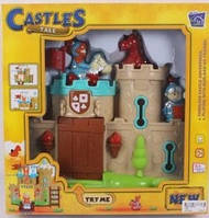 Детская музыкальная крепость с фигурками, фото 1