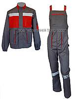 Костюм рабочий CARBON (куртка + полукомбинезон), фото 1