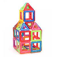 Гипер большой магнитный конструктор для детей, Magnetic Blocks, 106 деталей . Лучшая цена!