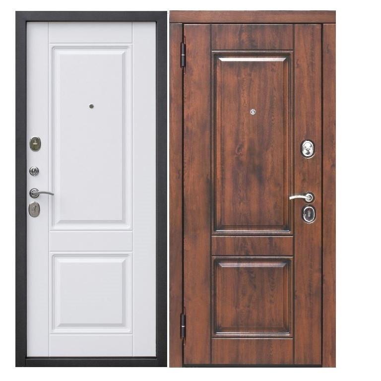 Дверь входная Таримус Вена Винорит Патина 9.5 см МДФ/МДФ грецкий орех