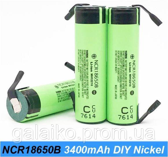 Оригинальный аккумулятор VariCore NCR18650B Li-Ion 3,7V 3400mAh