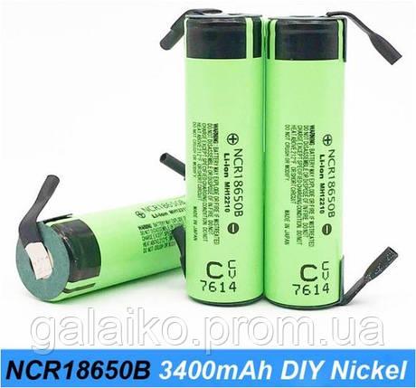 Оригинальный аккумулятор VariCore NCR18650B Li-Ion 3,7V 3400mAh, фото 2