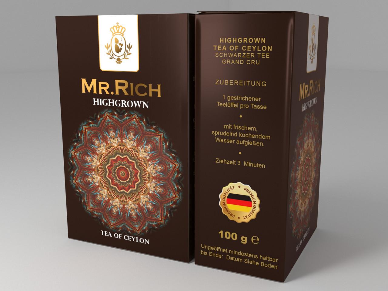 Mr.Rich HIGHGROWN 100 г.