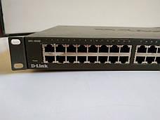 Неуправляемый коммутатор D-Link DES-1050G 48 портов б/у, фото 2