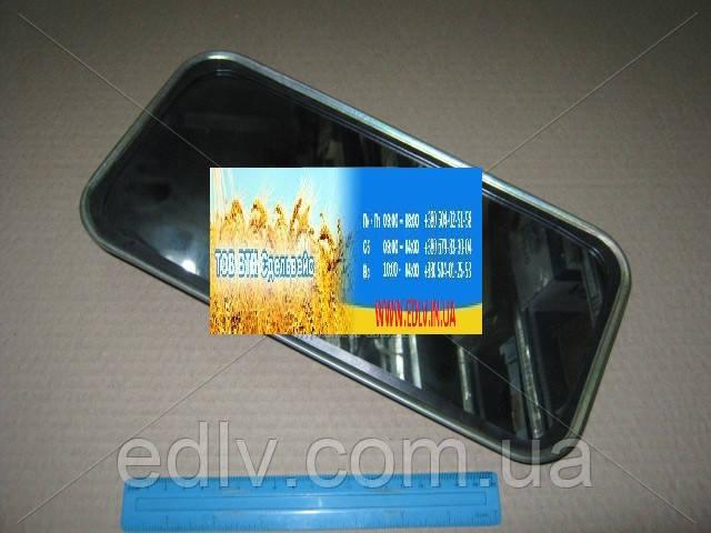 Зеркало боковое ЗИЛ 130 плоское метал.корпус 130В-8201052