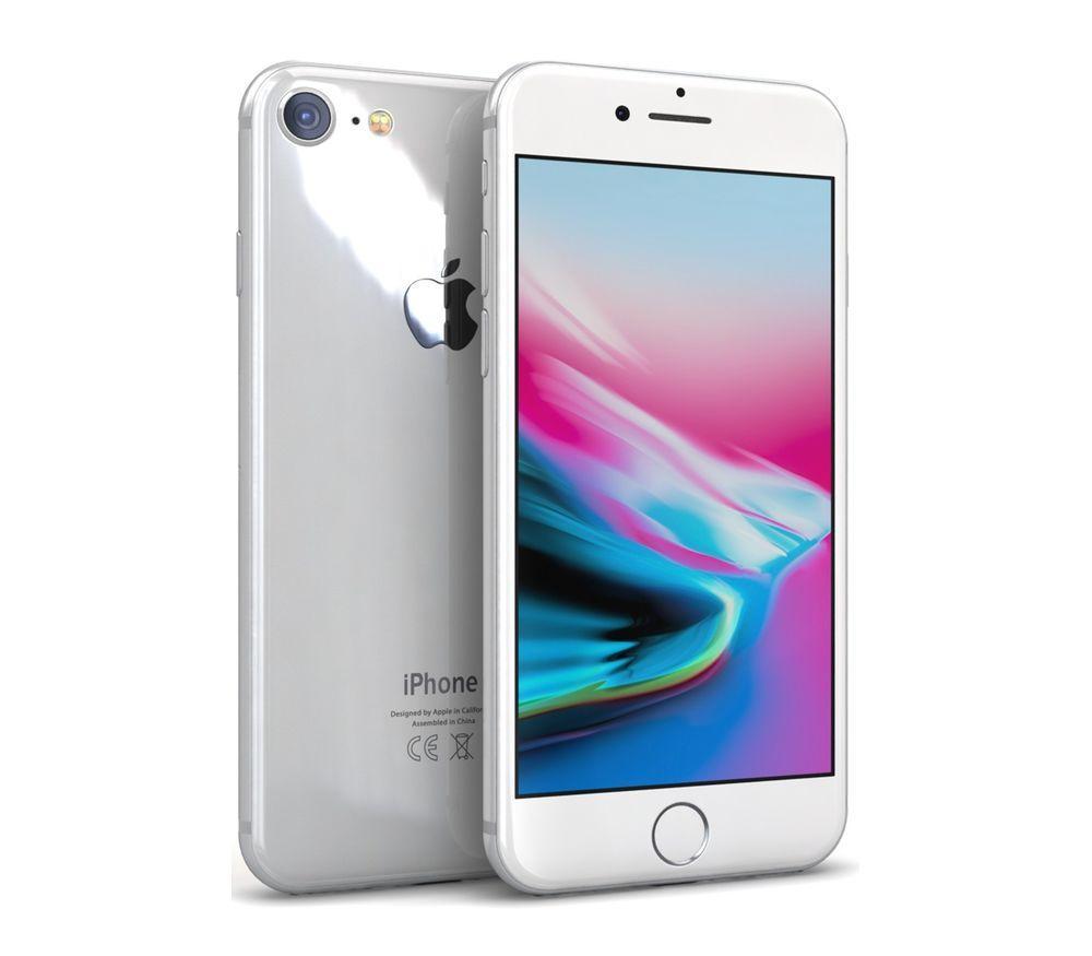 Apple iPhone 8 64GB Silver Refurbished (STD02949)