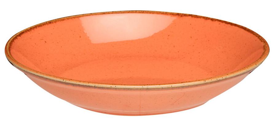 Тарелка глубокая - 21 см, Оранжевая (Porland) Seasons Orange