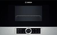 Микроволновая печь Bosch BFL 634 GS 1 ( 21 л, электро-механическое, черный)