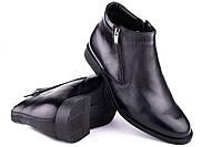 Ботинки мужские зимние классические черные Mida 14270 1