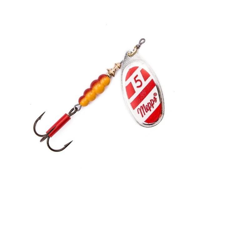Блесна Mepps Aglia Polonia Silver Red/White 5  13гр