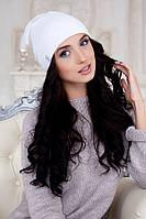 Шапка-колпак «Марис» (белый) Braxton