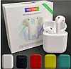 Беспроводные наушники Bluetooth  TWS AirPods i18 с боксом для зарядки, наушники ТВС АирПодс реплика Сенсорные, фото 2