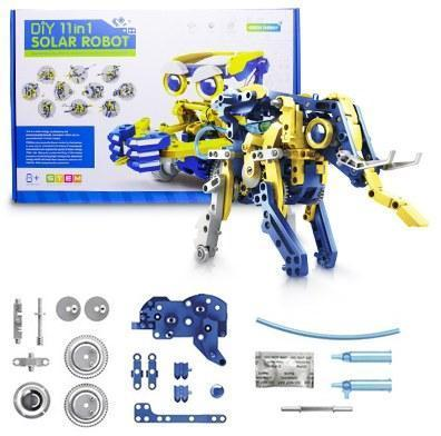 Конструктор робот детский Solar Robot Animals на солнечных батареях 11 в 1