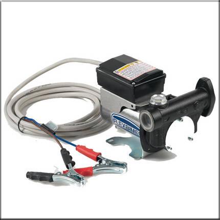 Flexbimec 6255 - Шиберный насос для перекачивания дизельного топлива 60 л/мин, фото 2