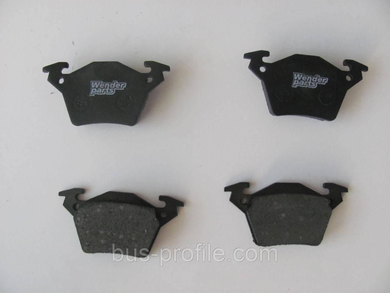 Колодки тормозные зад. MB Vito(638) 98- CDI Bosch — WENDER PARTS — 23020 17.9