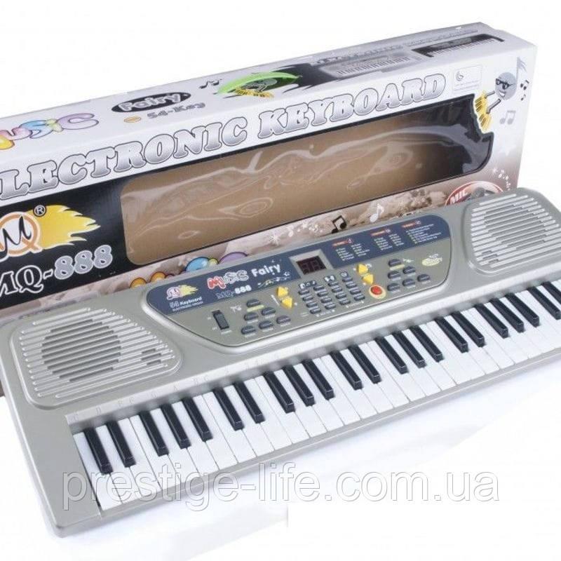 Детский обучающий синтезатор MQ-888, 54 клавиши