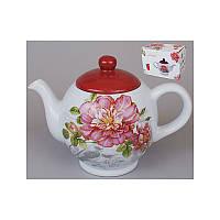 "Чайник ""Райский сад"", 1л, DM488-P /П2"