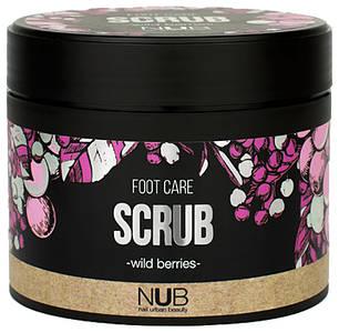 Скраб для ніг NUB Foot Care Scrub wild Berries, 300мл
