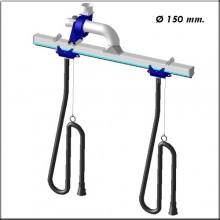 Filcar ECOSYS-D-18/2 - Рельсовая система для вытяжки выхлопных газов 18 метров