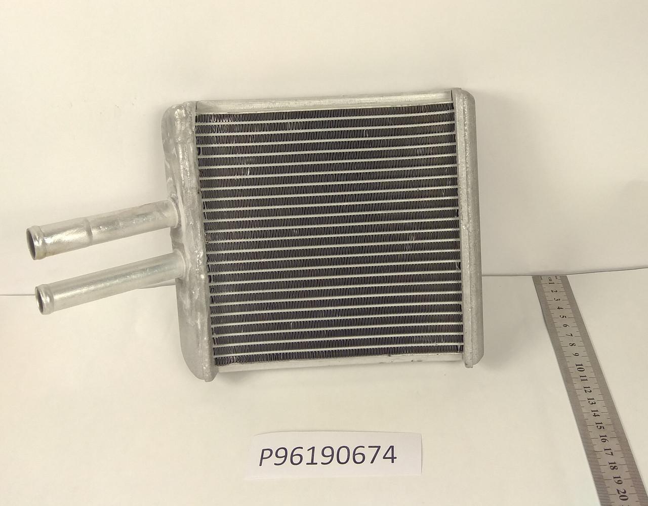 Радиатор печки Daewoo Lanos (в метале) KEMP