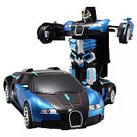 Машинка Трансформер робот на радиоуправлении автобот