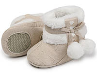 Пинетки зимние сапоги обувь детская зимняя осень зима мягкая подошва пінетки зимові зимове взуття дитяче