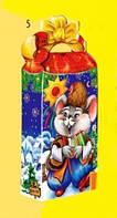 Мышонок Казачок, Новогодняя упаковка для конфет, 500 грамм