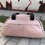 Жіноча спортивна сумка дорожня сумка зі штучної шкіри, фото 3