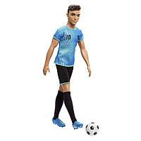 Кукла мальчик КЕН Футболист Barbie You can be Mattel FXP01/FXP02