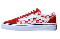 Кеды Vans Old Skool x Supreme Red White