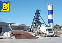 Мобильный бетонный завод EUROMECC FAST 60