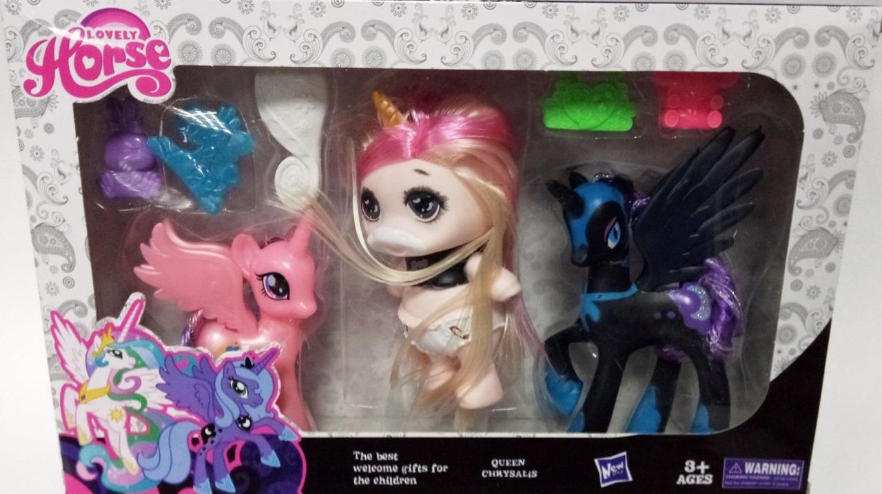 """Набор коллекционных игрушек """"POOPSIE Surprise + PONY"""" 29 см"""