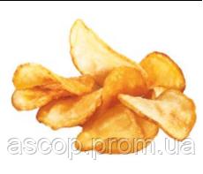 Картофельные чипсы с кожурой