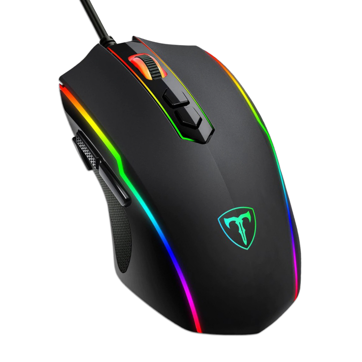Игровая мышка с макросами VicTsing T16 и RGB подсветкой 7200DPI