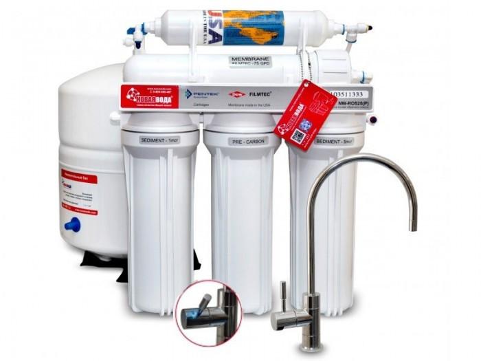 Система обратного осмоса Новая Вода NW-RO525 Smart