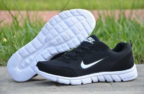 Кросівки копія NIKE чорно-білі