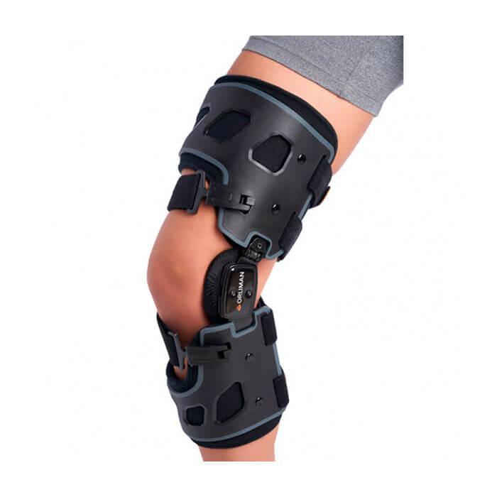 Жесткий коленный ортез функциональный при остеоартрозе