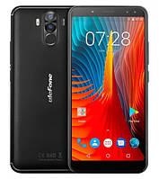 "Смартфон Ulefone Power 3S 4/64Gb Black, 16+5/13+5Мп, 6"" IPS, 6350мАч, Face ID, 2sim, MT6763, 8 ядер, 4G, GPS, фото 1"