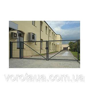 Ворота ЗАГРАДА Распашные  2.0 м, 3.0 м