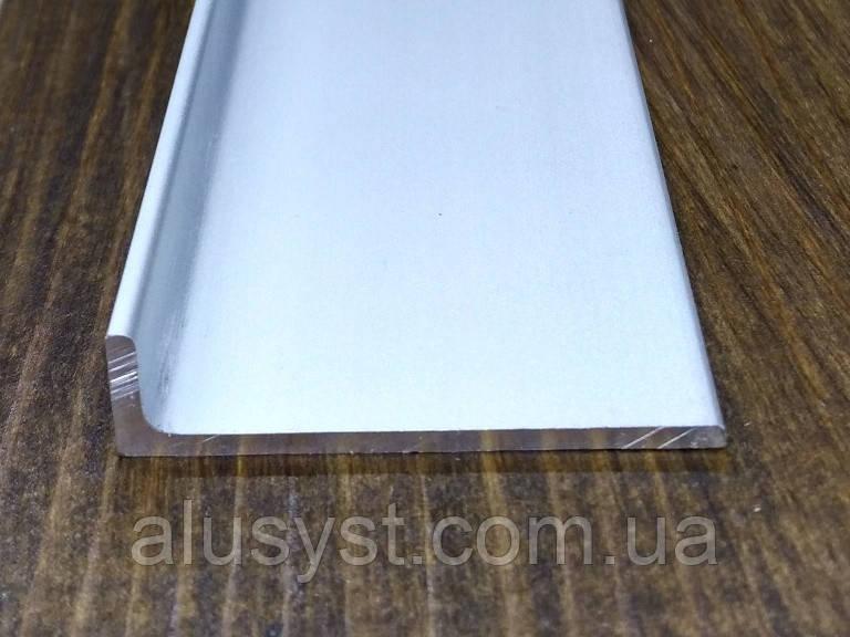Алюминиевый уголок, анод 40х10х2 мм