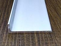 Алюминиевый уголок, анод 40х10х2 мм, фото 1