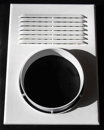 Решітка вентиляційна з фланцем під гофру 250 Х 180 100 (Миколаїв), фото 2