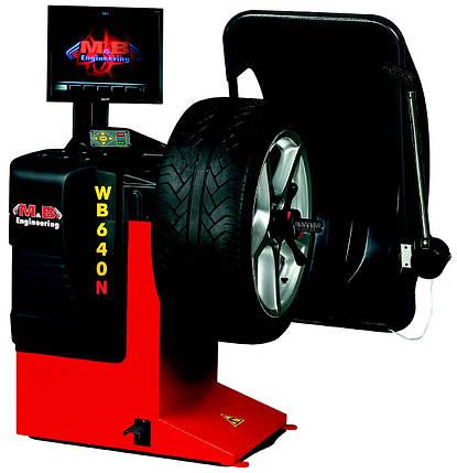 WB640 1PH 230V 50H Стенд балансировочный, автомат, фото 2