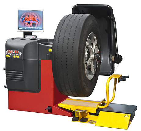 WB690 1PH 230V 50H Стенд балансировочный, автомат, фото 2