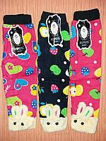 Лосины гамаши детские тёплые на плотной  байке флисе для девочек.От 3шт по 41грн, фото 1