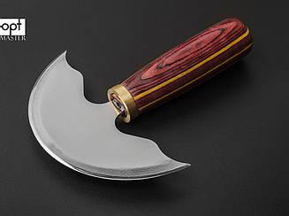 """Шерфовальный нож для кожи 15""""/153мм (87-1411)"""