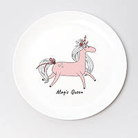 Тарелка Unicorn Magic оригинальный подарок на Новый год