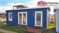Модульний будинок, деревяний каркасний, житло, офіс, дом из каркаса