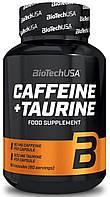 Кофеин BioTech - Caffeine + Taurine (60 капсул)